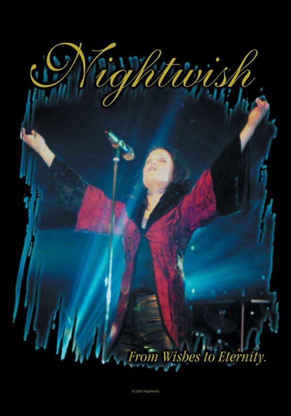 Nightwish from Wishes to Eternity Posterfahne