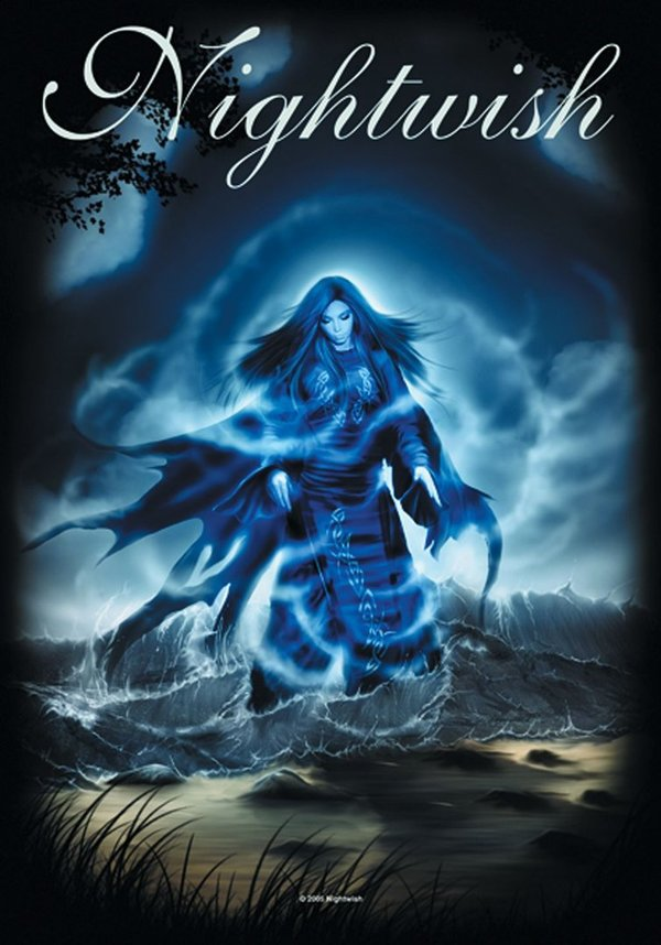 Nightwish Ghost Posterfahne