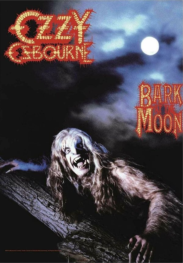 Ozzy Osbourne - Bark at the Moon Posterfahne