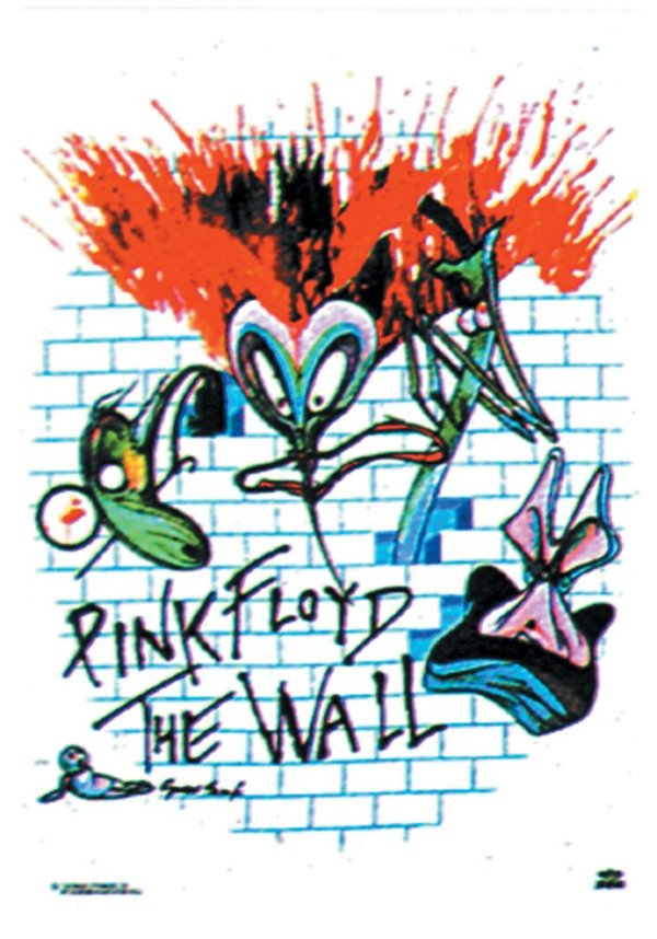 Pink Floyd - The Wall Posterfahne