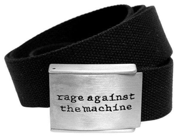 Rage Against The Machine Merchandise - Logo Gürtel