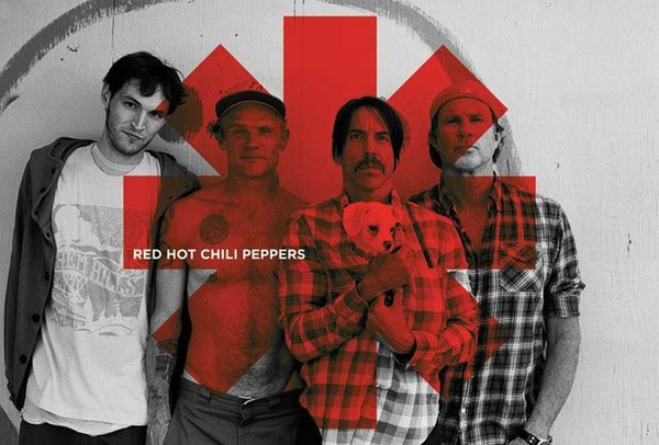 Red Hot Chili Peppers - Red Asterix Maxi Poster