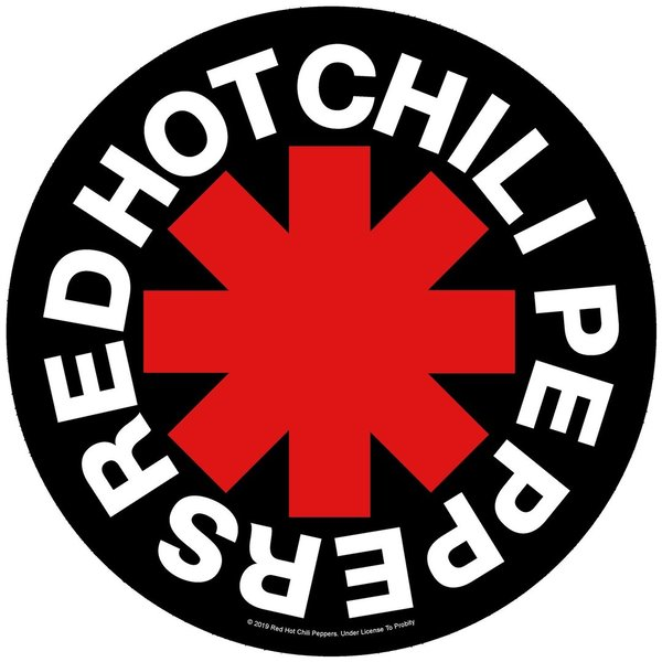 Red Hot Chili Peppers - Rückenaufnäher Asterisk