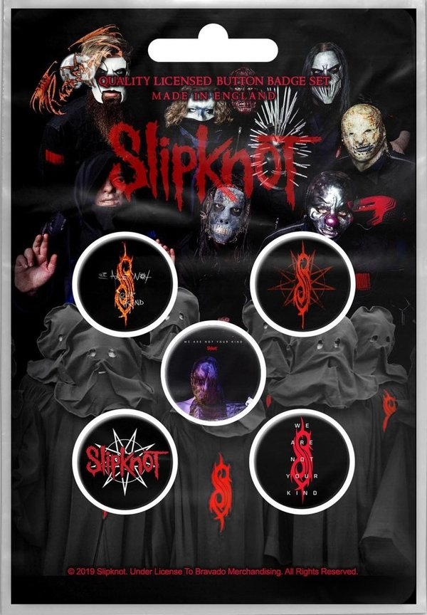 Slipknot - We Are Not Your Kind Button Set