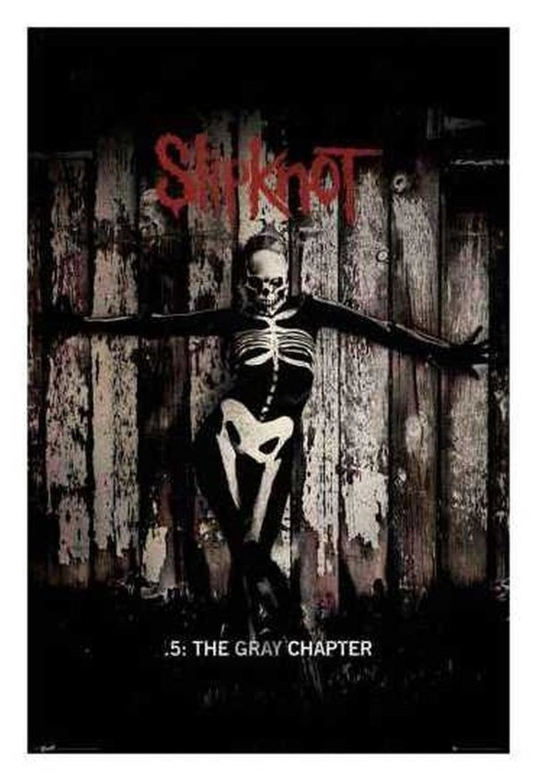 Slipknot - The Gray Chapter Maxi Poster