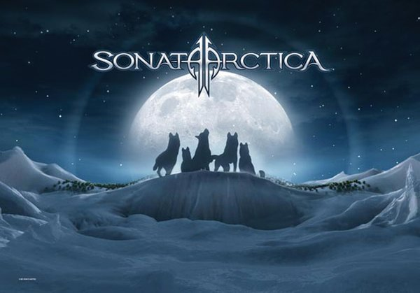 Sonata Arctica - Iced - Wolves Posterfahne
