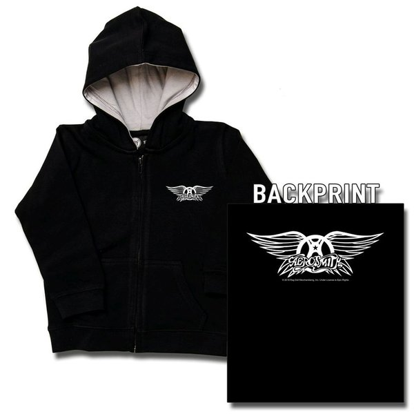 Aerosmith (Logo Wings) - Kinder Kapuzenjacke