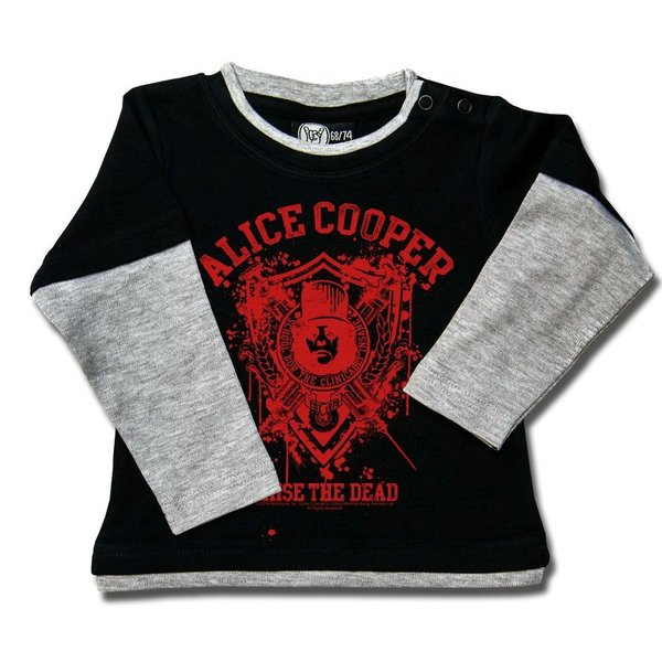 Alice Cooper (Raise the Dead) - Baby Skater Shirt