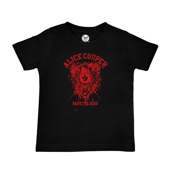 Alice Cooper (Raise the Dead) - Kinder T-Shirt (100% Bio-Baumwolle- Organic)