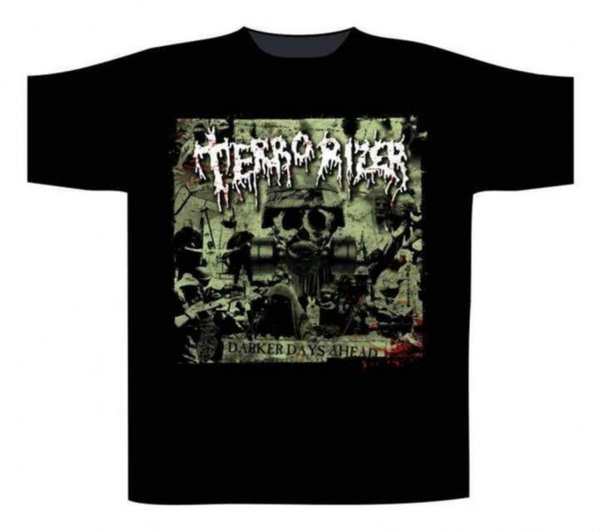 Terrorizer Darker Days Ahead T Shirt
