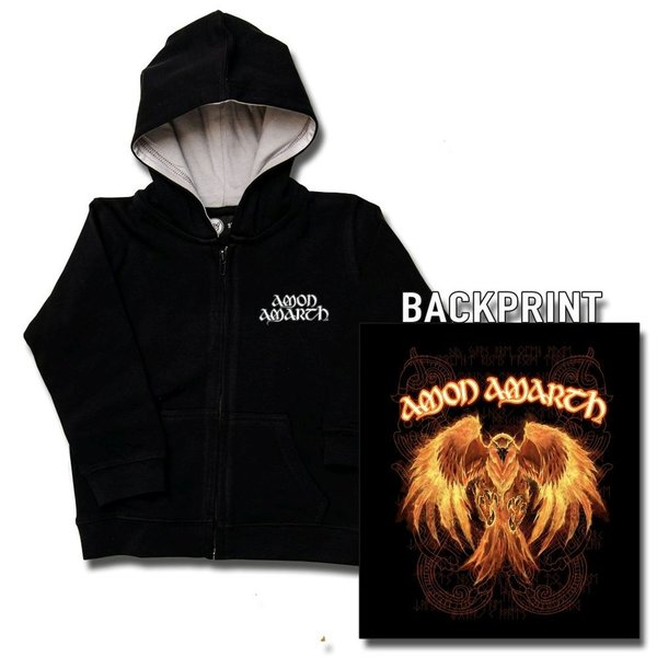 Amon Amarth (Burning Eagle) - Kinder Kapuzenjacke