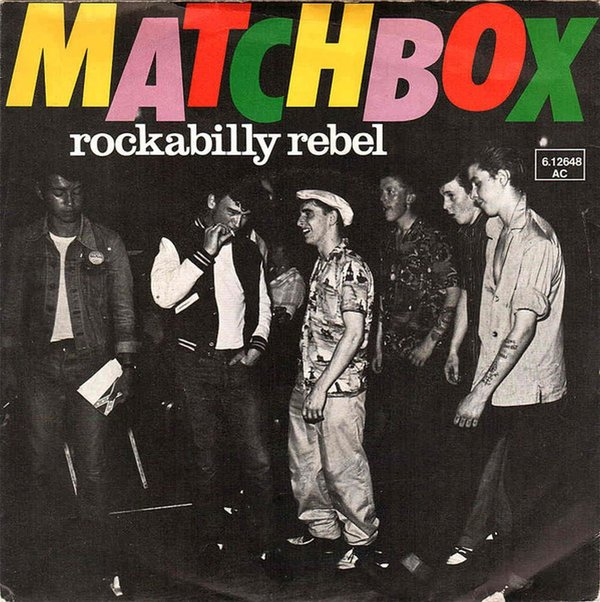 Matchbox- Rockabilly Rebel
