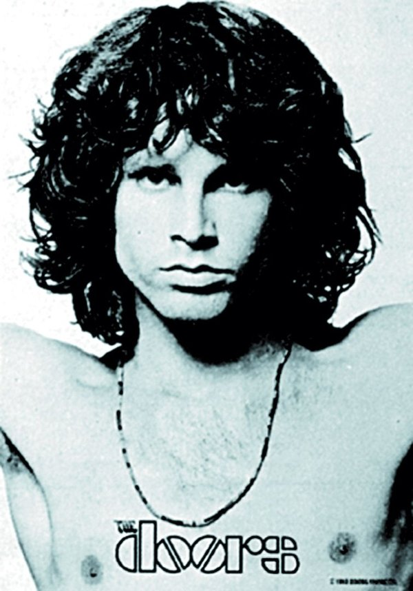The Doors- Jim Morrison Posterfahne