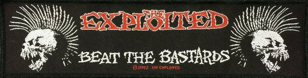 The Exploited Beat The Bastards Superstrip Aufnäher