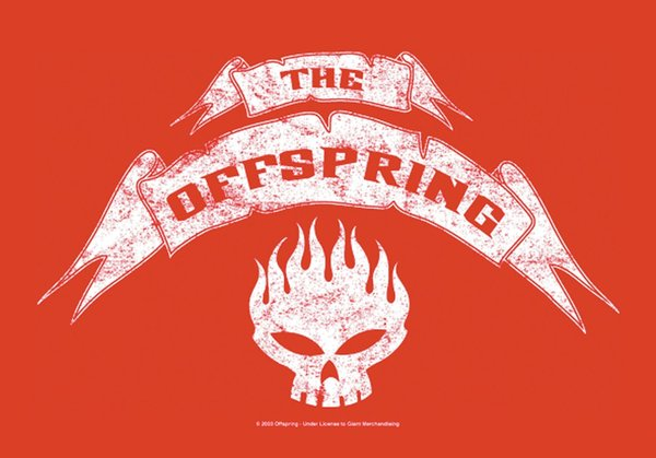 The Offspring - Banner Poster Fahne