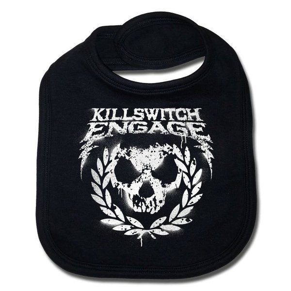 Killswitch Engage (Skull Leaves) - Baby Lätzchen