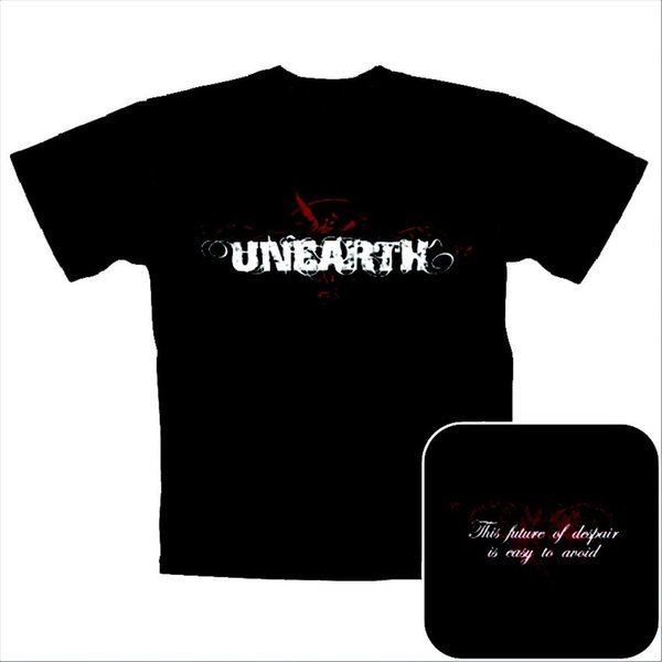 Unearth- Red Angel T-Shirt