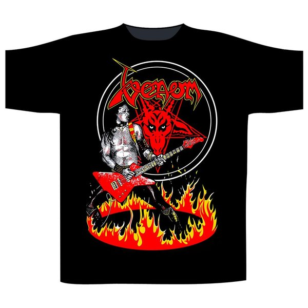 Venom-Cronos in Flames T-Shirt