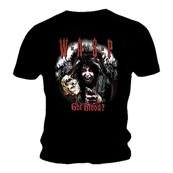 W.A.S.P. Got Blood? T-Shirt NEU & OFFICIAL!