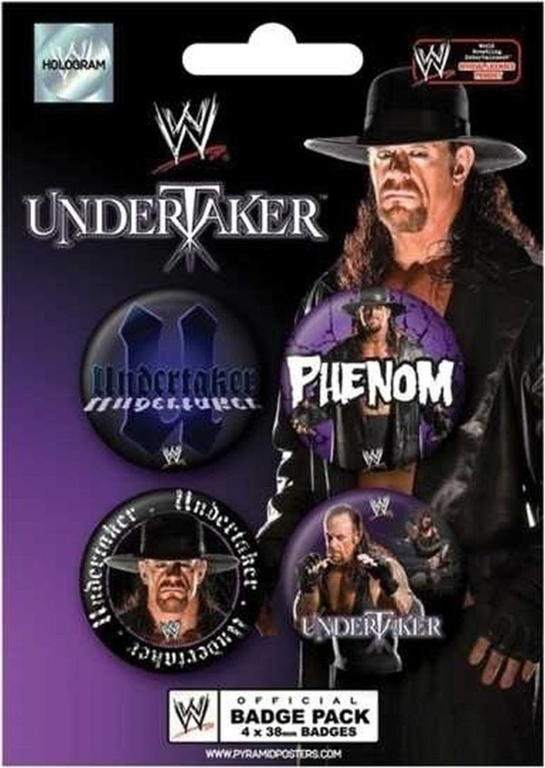 The Undertaker-WWE Button Pack