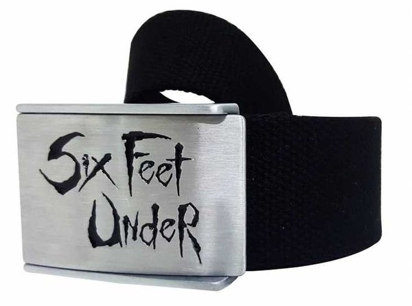 Six Feet Under Canvas Merchandise Gürtel