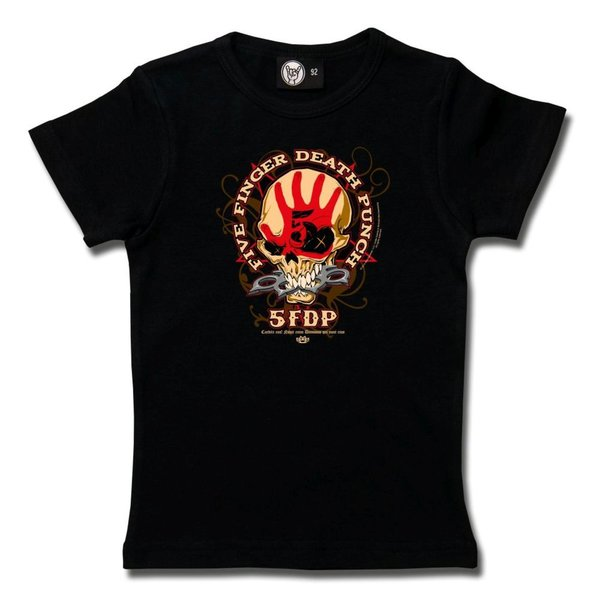 Five Finger Death Punch- Knucklehead Girly Shirt