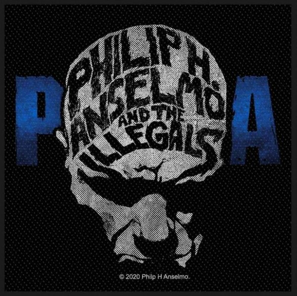 Philip H. Anselmo & The Illegals Face Aufnäher Patch