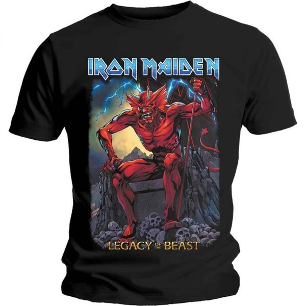Iron Maiden Legacy of the beast -  T-Shirt