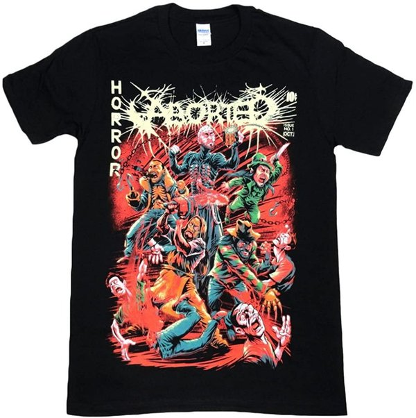 Aborted Horror Comic T-Shirt NEU & OFFICIAL!