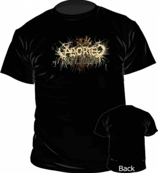 Aborted Logo T Shirt NEU & OFFICIAL!